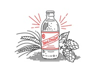 Red Stripe Illustrations