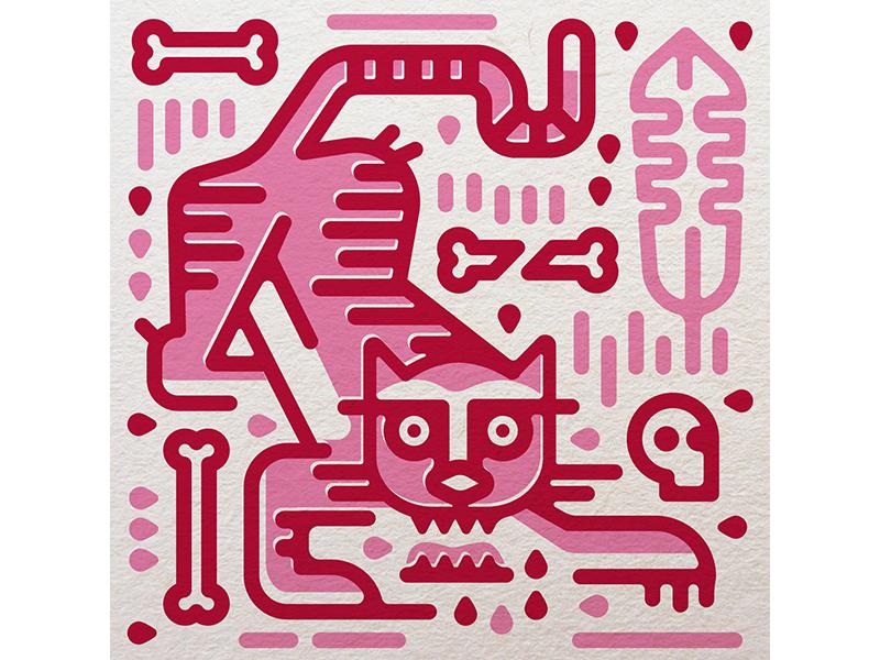 Tigress dumb personal project pink tigress tigger