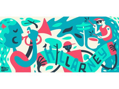 Coop Mural : The Neighbourhood Band