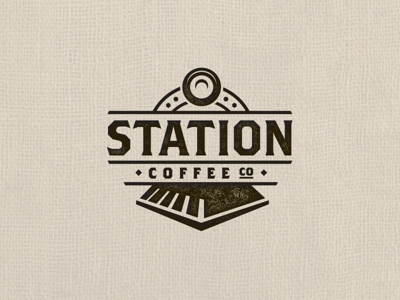 station coffee co by cam hoff dribbble dribbble