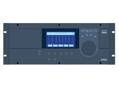 orban optimod-tv 8282 Flat radio broadcast flat audio processing orban optimod optimod-tv