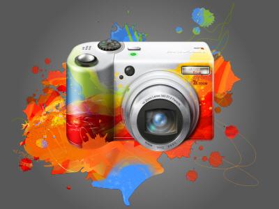 Photo Editing logo icoeye image icon