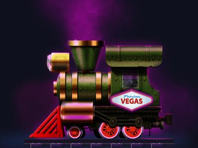 Rail Maze 2: Vegas icon app icon logo illustration game game-design