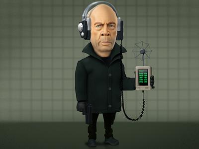 Counterpart tvshow counterpart digital art character art character design character icoeye illustration
