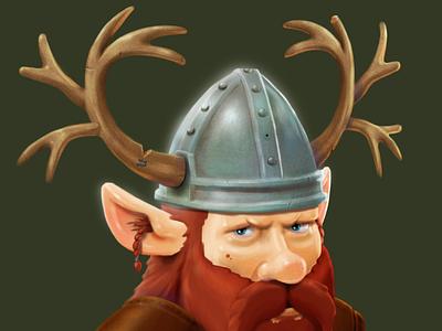 Nordic centaur. A game character concept fantasy viking character designs character design icoeye gameart game art game-design illustration
