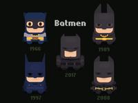 Flat batmen