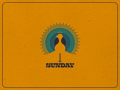Sunday icon vermont logo design illustration vectorart logo marketing design graphic design branding
