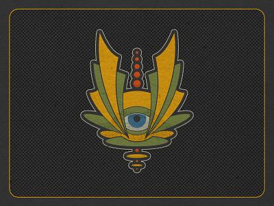 Psychedelic Icons psychedelic midcenturymodern icon stickers vermont illustration vectorart logo branding design logo design graphic design