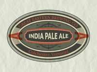 Great Eastern Brewing IPA Lable