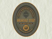 Breakfast Stout Label