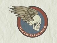 Grateful Dead Skull & Wings
