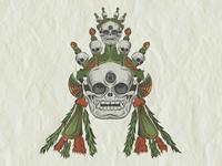 Double Skull Mask