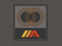 Retro Record Label