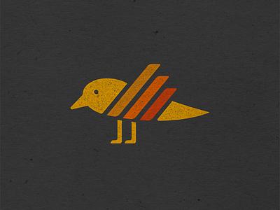 Birdie Icon art labels retro icon vintage vector illustration logo design vermont vectorart logo marketing design graphic design branding