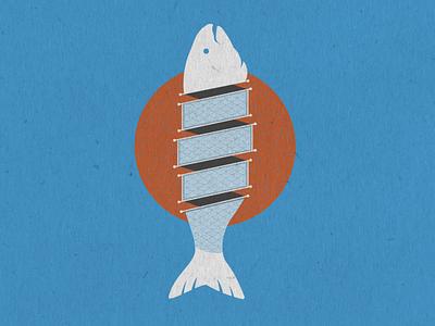 Sushi illustrator circles sushi logo sliced sushi fish iconography icon packaging vector logo design illustration vectorart logo marketing design graphic design branding