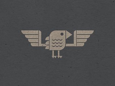 Birdie flat design geometric design bird icon retro stickers icon vintage vermont logo design vectorart logo marketing design illustration graphic design branding