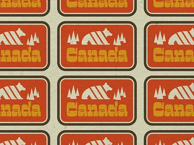 Oh Canada typography canada vermont logo design illustration vectorart logo marketing design graphic design branding