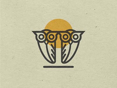 Searching for Owls? minimalism owls icon illustration vector logo design vectorart logo marketing design graphic design branding