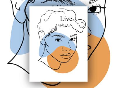 Live indiana indianapolis line weight realistic illustration realism modern illustration poster line illustration