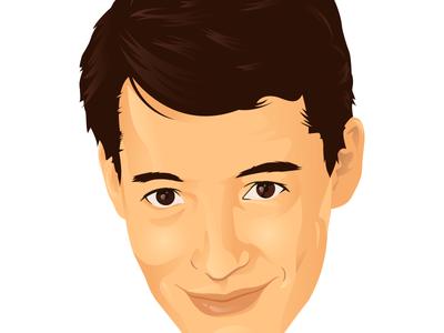 Ferris Bueller portrait