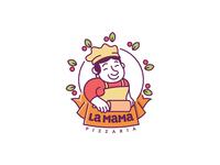 La Mama logo WIP