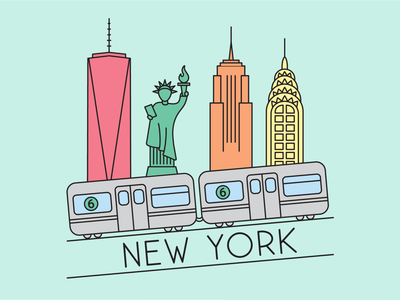 New York City Illustration