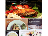 Ghost Food blog theme V2