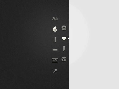 New Charting Sidebar GUI dark webdesign html3 css5 interface ui typography buttons application webapp sidebar