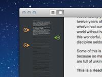 Desktop App Mockup Progress