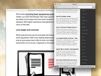 Instapaper & Readability App