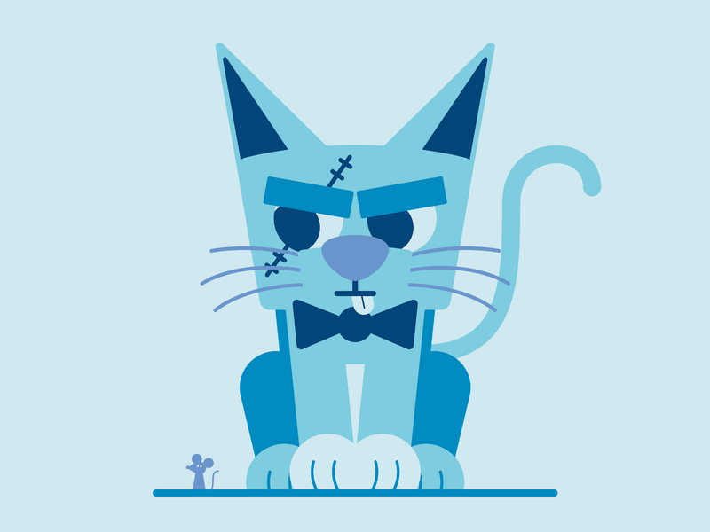 BLUE CATV characters characters design cartoon pirate cats blue cats cats cat