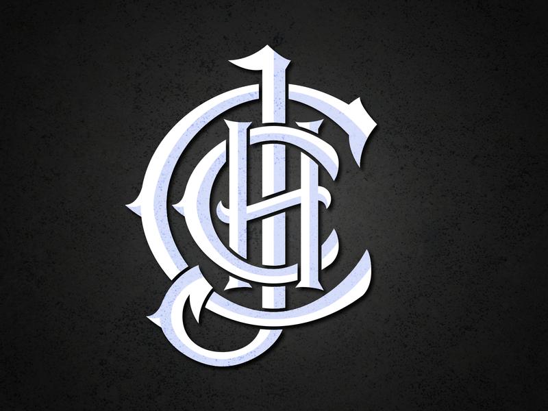 LOGO JCCH PIRATE pirategraphic pirates identity monogram logo typography design branding monogram letter mark monogram design monograms monogram