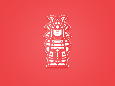 Samurai japan samurai asia characters warrior warriors characters design battle illustration design vector