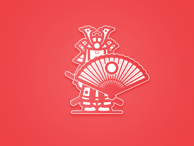 Samurai Battle japan samurai asia characters warrior warriors characters design battle illustration design vector