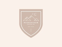Moonshadow Coffee Co Branding