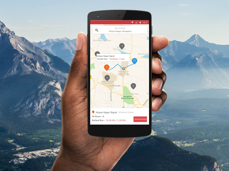 redBus Travel Now Feature by Abhilash Ramachandran on Dribbble