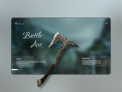 Swords App - Free UI Resources trendy ui design ipad free downloads free landing page free figma resources uiux 3d trendy design dribbble best shot modernism freebee application design app ui app design flat ios ui flat  design modern
