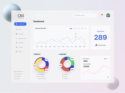 Sessions Dashboard-Free UI Resources modernism trendy free templates freebie free downloads dribbble best shot dashboard dashboard ui uiux web app ui web app ui design flat bright color mobile app design minimal ios ui flat  design modern