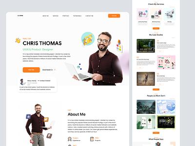 Freelancer Landing Page web design website web web page landing landing page