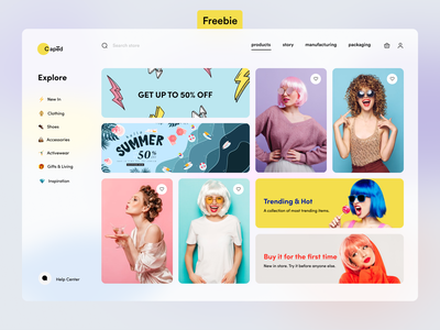 Wigs - Ecommerce Website UI contact us product design single pager one page design features webdesign uidesig homepage website landingpage web websitedesig landingpagedesig landing minimal ecommerce store interface design ui