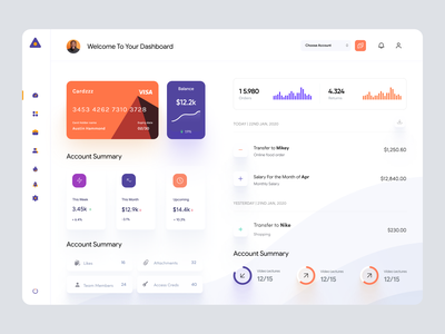 FInance App Dashboard UI Template userinterface application webapp ui admin ui admin theme tablet app desktop app dashboard app admin dashboard admin panel user interface analytics finance app dashboard ui dashboad user dashboard dashboard
