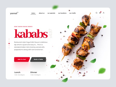 Restaurant Landing Page food delivery app food app hotel booking restuarant landing portfolio gallery contact us about us our menu website homepage landingpage landing page bakery food delivery food hotel resturant restaurent