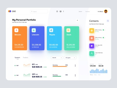 Crypto Currency dashboard UI concept application interface sidebar top nav table view list view card view analytics admin theme user dashboard admin panel admin dashboard admin ui crypto wallet wallet ui token dashboad dashboard crypto