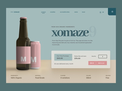 Shopify Product Landing Page UI woocommerce homepage design home page store web design web page web shopify store landing landing page shopify homepage website