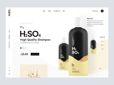 Shopify - Wellness Product wellness store ui shopify store web design website web landing page landing product page homepage shopify