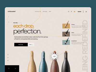 shopify homepage for soft drinks shopify store hoempage landing page website web landing ecommerce woocommerce store store ui shopify