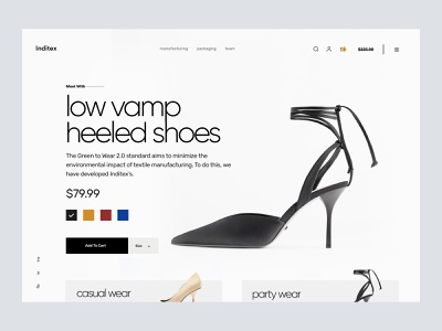 shopify website for shoes woocommerce ecommerce hompage web design landing page store ui shopify store website shopify