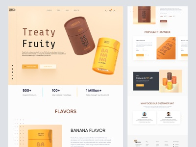 pet food shopify landing page woocommerce ecommerce landing page landing homepage webdesign web design shopify store store ui website shopify