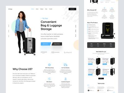 landing page for shopify website web design website homepage landing page landing
