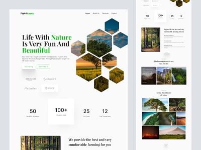 Landing Page Design web design website homepage landing page landing